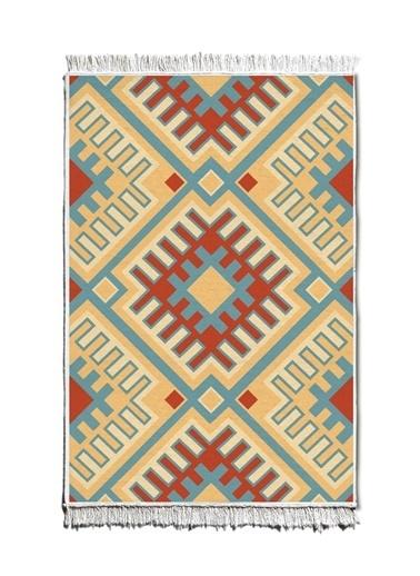 The Mia Kilim 120 x 80 Cm - Çift Taraflı Renkli